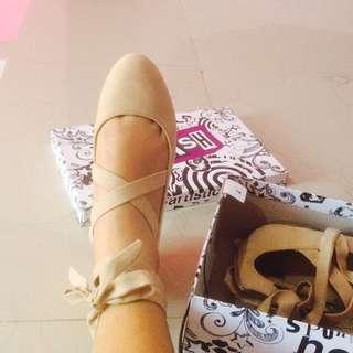 Ballerina Shoes Brash Nude