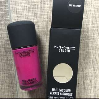 Bnib Mac Nail Polish