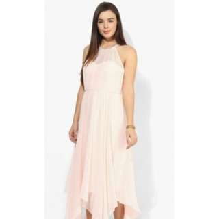 Forever New Ice Pink Sara High Lo Maxi Dress