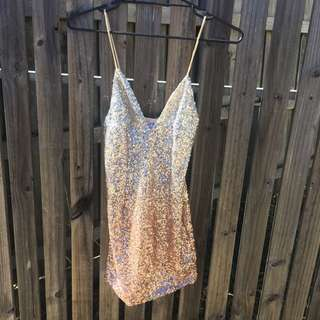 Last Crusade Sequin Mini Dress