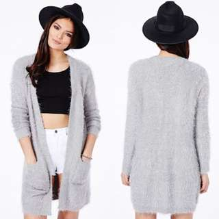 Missguided Eyelash Knit Cardigan