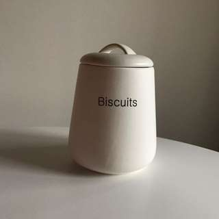 modern biscuit cookie jar