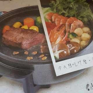 不沾鍋電磁爐  鐵板鍋