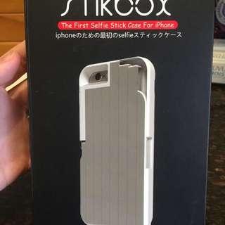 IPhone6手機殼+自拍棒