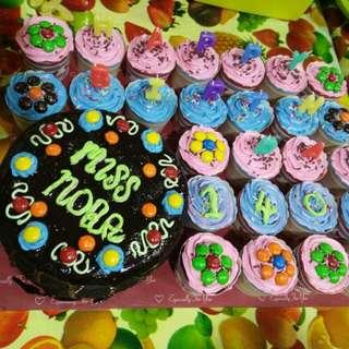 Kek Coklat dan Cup Cake