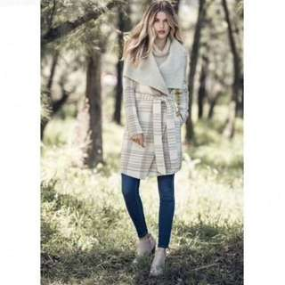 FOREVER NEW Wool Coat BNWT Rrp$229