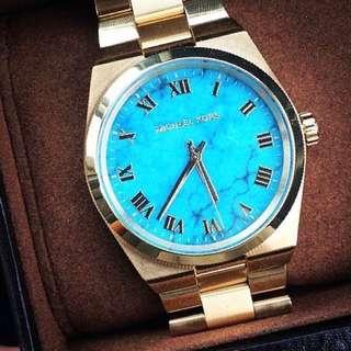 Blue Dial Michael Kors Watch