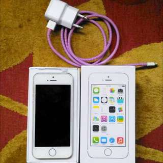 iPhone 5S 16GB - Silver