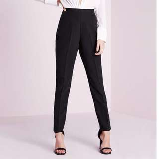 SWAP FOR HIGH-WAIST CIGARETTE/TAPERED PANTS