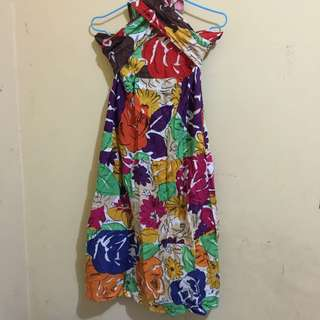 Colorful Tube Dress