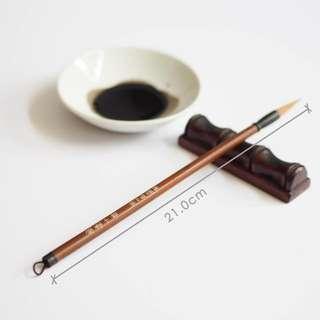 Instock 狼毫小楷毛笔 Chinese Calligraphy Paintbrush