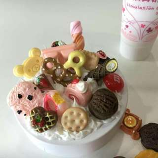 Cute Dessert Decorate For Your Phone Or BB cushion Case
