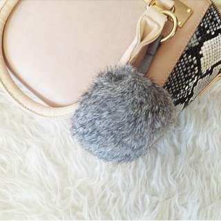 Authentic Grey Rabbit Furball