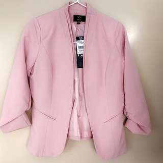Pink Ice Design Work Jacket