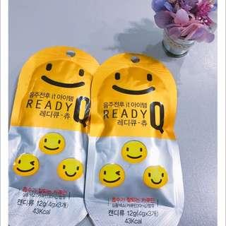 READY Q 微笑 解酒 軟糖