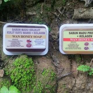 Sabun Madu Kelulut +kolegen+kulit Kayu Manis