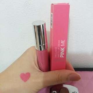 Wardah Exclusive Matte Lip cream shade 04 Pink Me