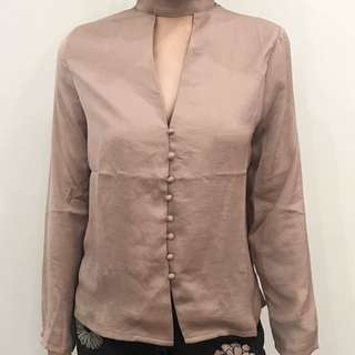 The Editors Market Nude Top