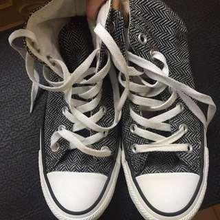 Converse  All Star 高筒帆布鞋