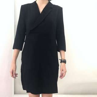 The Editor's Market Black Dress