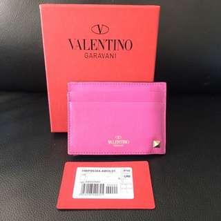 Valentino Rockstud Multi Card Holder