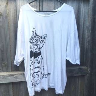 Oversized ASOS Cat Shirt