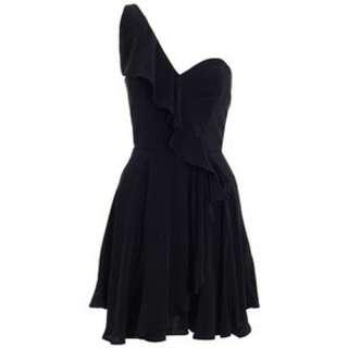 Zimmermann Phoenix Asymmetric Drape Dress