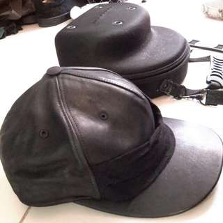 Rick Owens DRKSHDW  Leather Cap