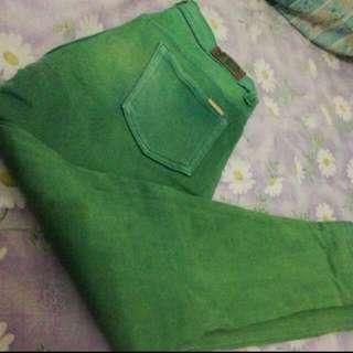 Green Jeans 30 Kecil