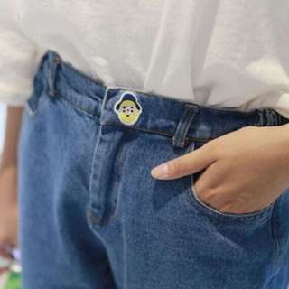 Ulzzang Denim Jeans with Cute Embroidery #MegaMay