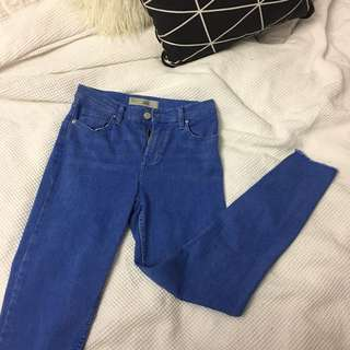 Topshop Jamie Ankle Grazer Jeans