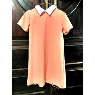 Dress Peach Wanita
