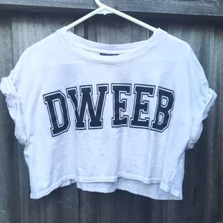 Top Shop 'Dweeb' Crop