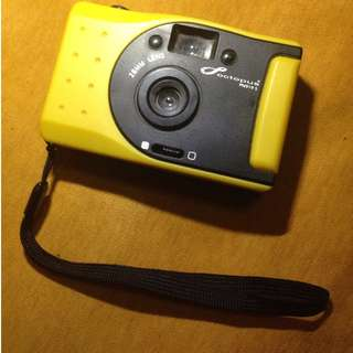 Camera Analog Octopus Yellow