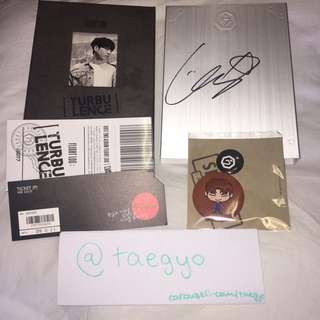 WTS GOT7 FLIGHT LOG : TURBULENCE Autograph Package (KPOP)
