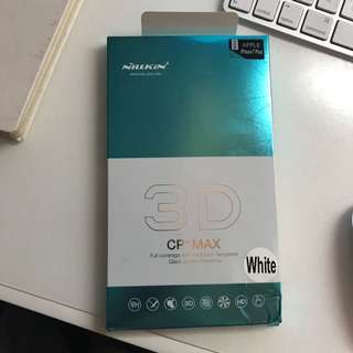Nillkin 3D CP + Max white tempered glass