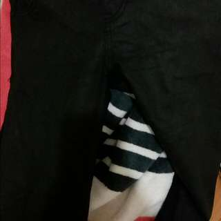 Black Leather/Wet Look Pants/Jeans SASS Size 10