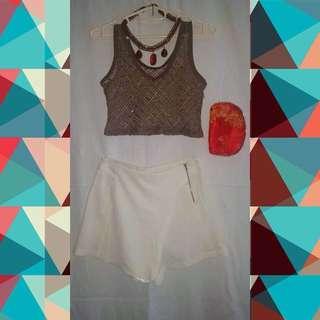 Crop Top & H/W Shorts