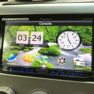 Car audio Pioneer AVH-X8650BT