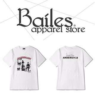 貝里斯Bailes【KS607】歐美版 / 男女款 歐美街頭個性ROCK印花 搖滾樂團棉質設計圓領短袖T恤