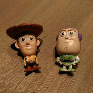 迪士尼 皮克斯 玩具總動員 胡迪&巴斯光年 隱形墨水 隱形筆