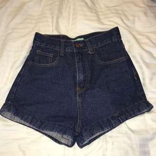 👾復古高腰牛仔褲