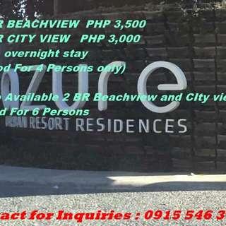For Rent Azure Urban Resort Staycation