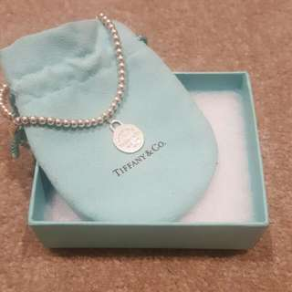Tiffany & Co - round bead necklace