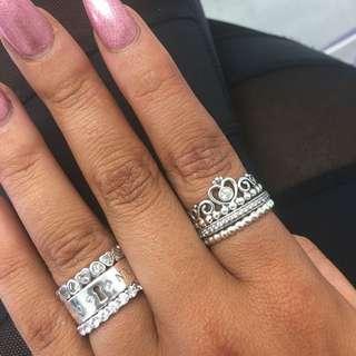 Pandora Love Heart Ring Size 48