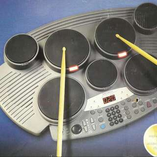 Digital Drum With Guided Indicator System (MIDI)