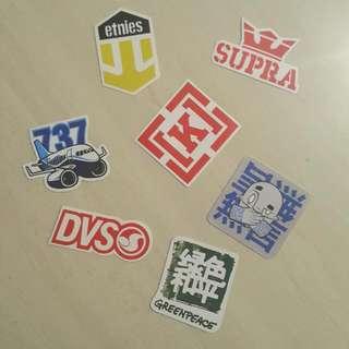 電腦/滑板貼紙 品牌系列 板牌 Supra