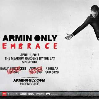 Selling Armin Only Embrace Tixs