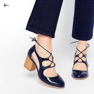 ASOS Block Oxford Heels