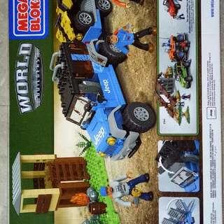 Megabloks Jeep Expedition